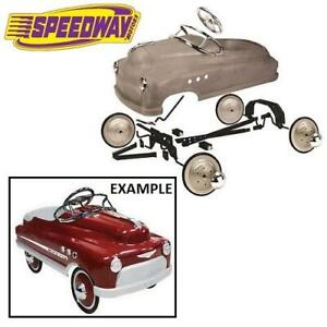 NEW* MURRAY PEDAL CAR ASSEMBLY KIT 918-0040 245113122 UNPAINTED DIY MODEL VINTAGE KIDS TOYS RIDE ON