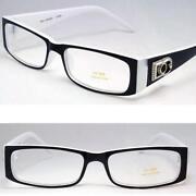 Mens Eyeglass Frame White