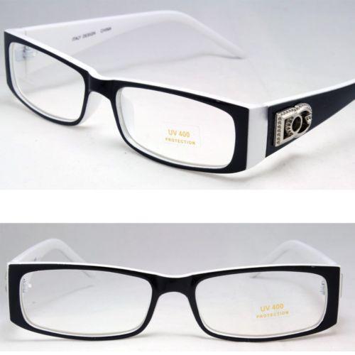 Mens Eyeglass Frame White Ebay