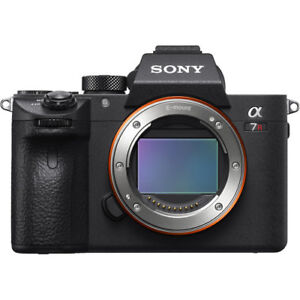 Sony A7r iii body with 50mm f/1.8 fe lens