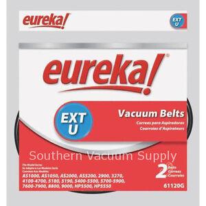 Genuine Eureka Style EXT U Vacuum Belts 2 61120G 61120D