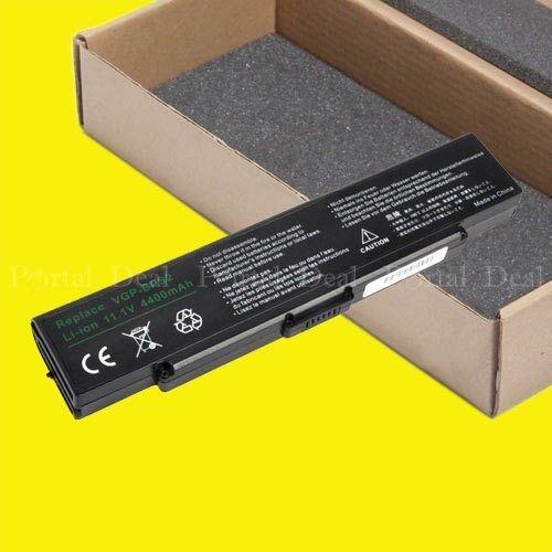 Battery For Sony Vaio Pcg-6p2l Pcg-6q1l Pcg-7x1l Vgn-ar55...
