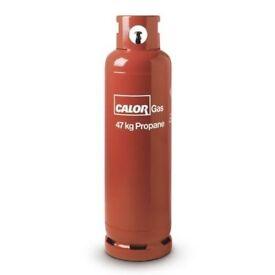 47KG PROPANE CALOR GAS BOTTLE FULL COOKER. / HEATING / MOBILE HOME