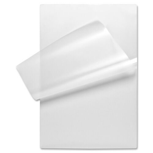 """Menu Size Clear Laminating Pouches, 12"""" x 18 inch Length, 5 Mil, 100 Pack"""