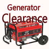 Generator Clearance