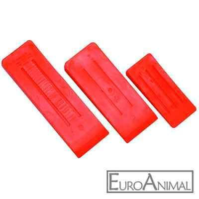 Keile-Set dreiteilig, Kunststoff  Keil  Fällkeil-e (Spaltkeil-e) Kunststoffkeile