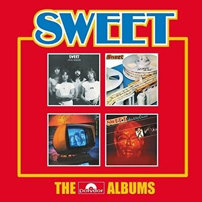 Sweet   Polydor Albums  New Cd  Uk   Import