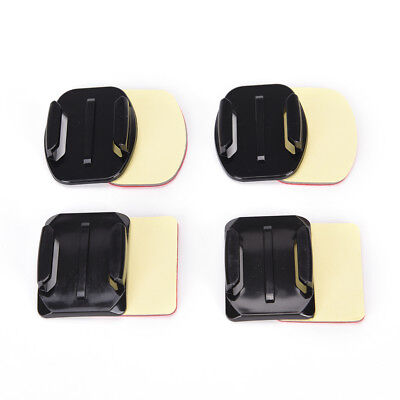 8Pcs Flat Curved Adhesive Mount Helmet Accessories For Go pro Hero 5...
