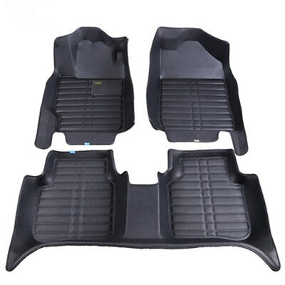 Weatherbeater Front  Rear Floor Mats BLACK fits For BMW BMW F15 X5 2014 2017
