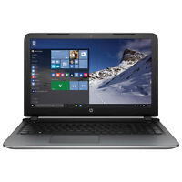 "HP Pavilion 15.6"" silver touch screen + 3 year warranty"