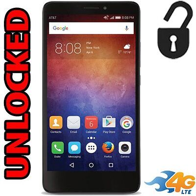 "New Unlocked | AT&T GoPhone Huawei Ascend XT | 4G LTE 6"" 16GB 