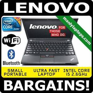 AMAZING SMALL LENOVO X230 i5 2.6GHZ FAST LAPTOP - BARGAIN PRICE!! Pyrmont Inner Sydney Preview