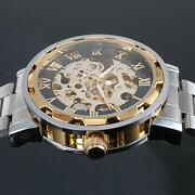 Mens Skeleton Wrist Watch