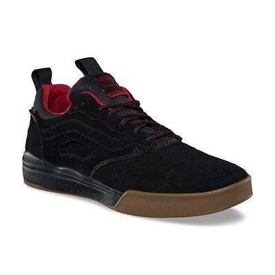 Vans Ultrarange Pro Spitfire Black Cardiel Red Suede Men's 9 Skate Shoes New