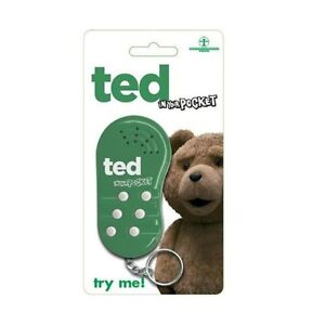Ted-In-Your-DE-BOLSILLO-parlanchin-LLAVERO-Llavero-Regalo-SIN-ESTRENAR