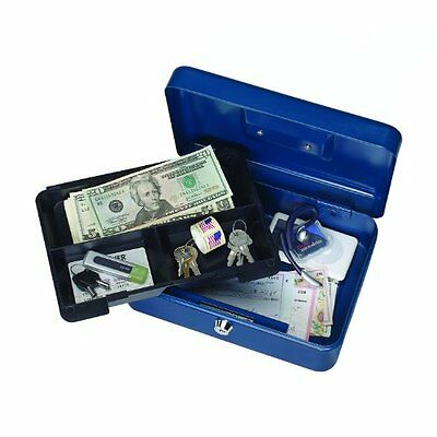 Steelmaster Steelmaster Security Case - STEELMASTER Compact Steel Security Case, 9.75 x 3.5 x 7 Inches, Color May Vary