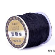 Chinese Knot Cord Black