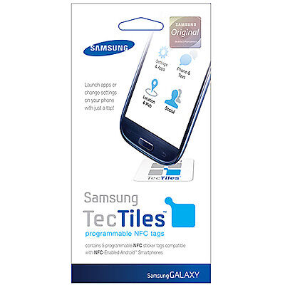GENUINE NFC Tectiles For Samsung Google Galaxy Nexus 10 GT-P8110 (5 Tags) NEW RT for sale  Shipping to Canada
