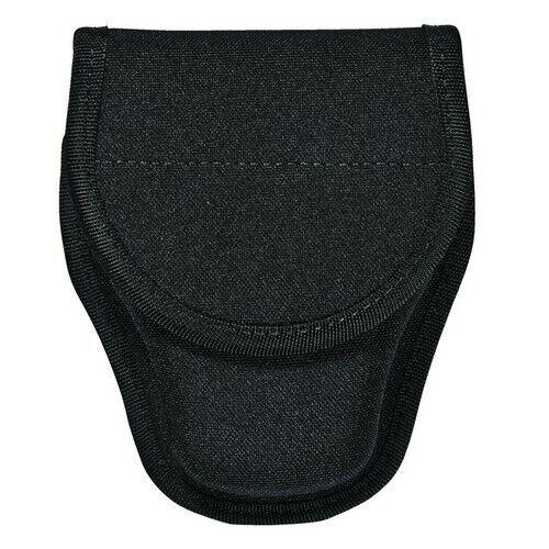 Bianchi 31348 Black 8001 Patrol Tek Single Handcuff Cuff Case w/ Key Slot