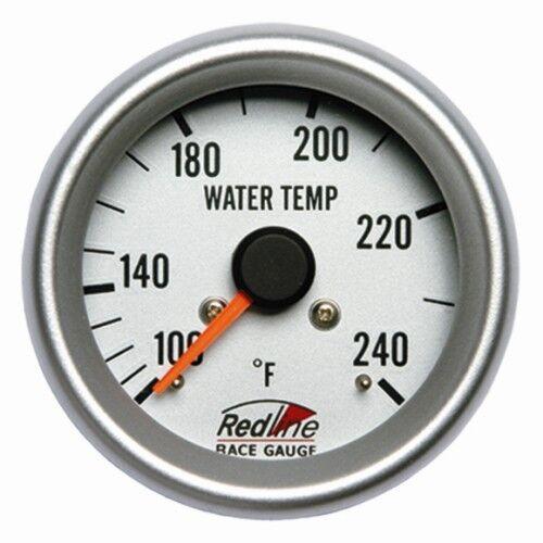 2 5/8 Water Temperature Mechanical Gauge 2.6m Capillary 258-14 Redline