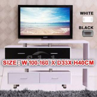 Wooden TV Stand Entertainment Unit Upto 160CM Cabinet