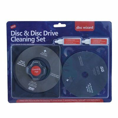 Laser Lens Cleaner Cleaning Kit for PS3 XBOX 360 BLU RAY DVD PLAYER CD DISC. NEW