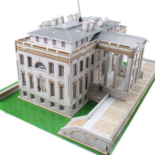 3d Puzzle White House Ebay