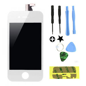 White Replacement LCD Touch Screen Digitizer Glass Assembly OEM for iPhone 4S
