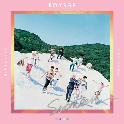 SEVENTEEN-[BOYS BE] 2nd Mini Album HIDE CD+Photo Book+Map+Card+etc K-POP SEALED