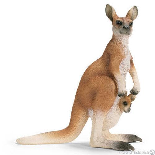 Details about NEW SCHLEICH 14603 Kangaroo & Joey Baby - Australian Models  RETIRED