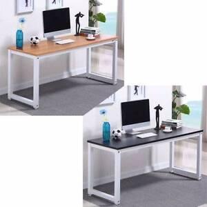New Home Office Desk (Wood Top, Metal Frame) Melbourne CBD Melbourne City Preview