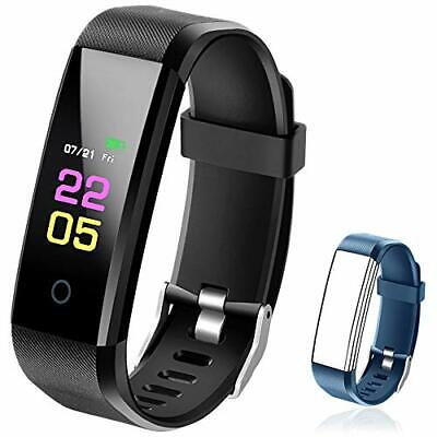 Fitness Trackers- Activity Tracker Watch with Heart Rate Blood Pressure Monitor,