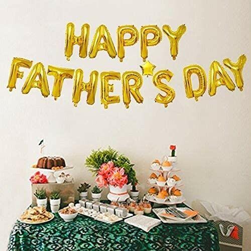 Decoración dia del padre Globos Happy Father