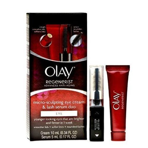 Olay Regenerist Micro-Sculpting Eye Cream and Lash Serum Duo