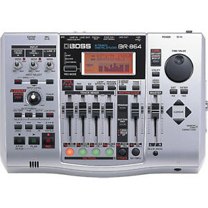 Boss BR-864 8 Track digital recorder