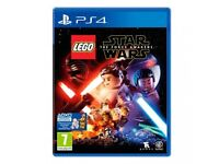 PS4 Games / The Division / Lego Star Wars / Mint Condition