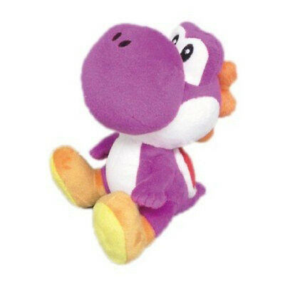 Little Buddy Usa 1391 Nintendo Super Mario Series 6  Purple Yoshi Stuffed Plush