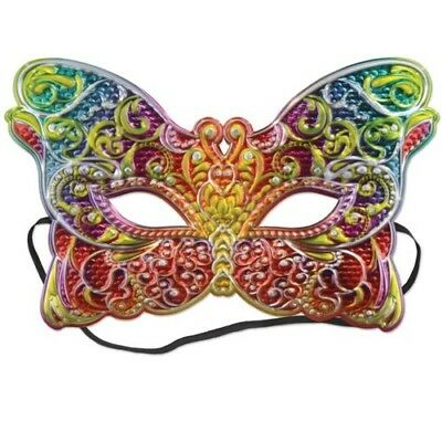 Costume Mask #2 Mardi Gras Half Mask Dress Up Prop Mardi Gras Party - Costume Party Decorations