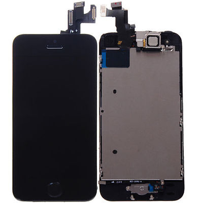 Black LCD Lens Touch Screen Display Digitizer Replacement Assembly for iPhone 5S on Rummage
