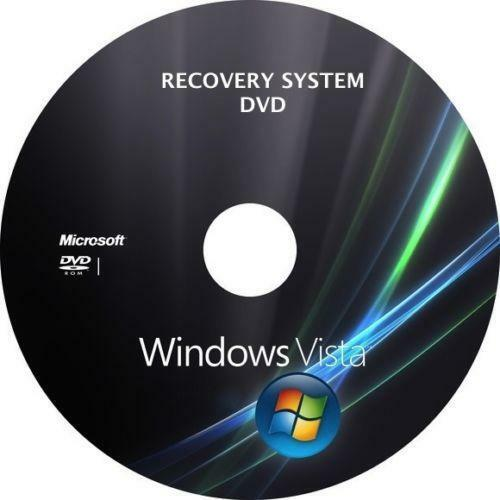 Windows Vista Recovery Disc Ebay