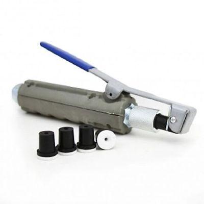 Abrasive Blaster Sandblaster Nozzle Gun w/ 4 Ceramic Tips Dead-Man Nozzle