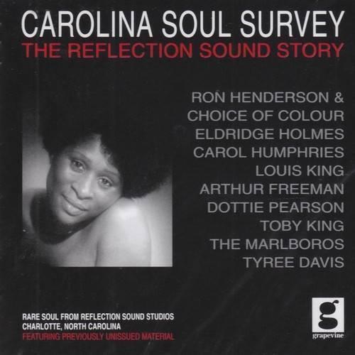 CAROLINA SOUL SURVEY Various Artists NEW SEALED NORTHERN SOUL CD (GRAPEVINE) R&B