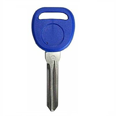 New NAVY Replacement Transponder Ignition Key Uncut Blade Blank Car Key Chipped