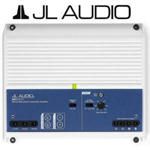 NEW JL AUDIO MARINE SUBWOOFER AMP M600/1 236520523 600W MONOBLOCK SUB AMPLIFIER