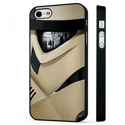 Stormtrooper Star Wars Movie Scene BLACK PHONE CASE COVER fits iPHONE