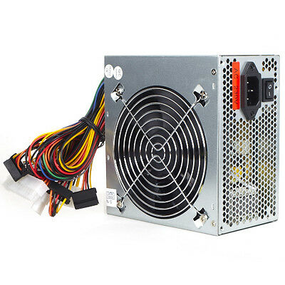 500 WATT 120mm NETZTEIL 500W PC ATX POWER 3xSATA LEISE