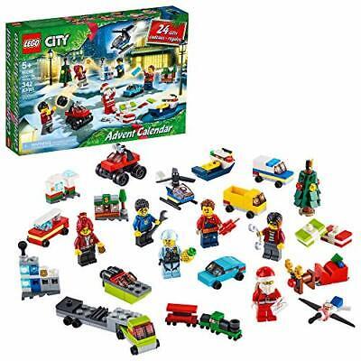 LEGO City Advent Calendar 60268 Playset, Includes 6 City Adventures TV