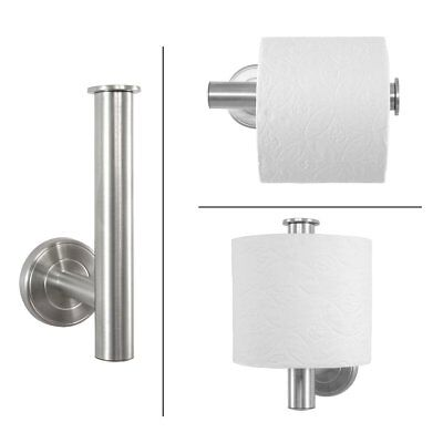 Badserie Ambiente - WC Toilettenpapierhalter | Ersatzrollenhalter | Edelstahl
