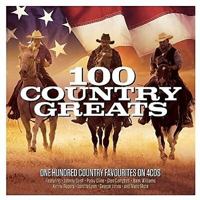 Various Artists   100 Country Greats   Various  New Cd  Uk   Import