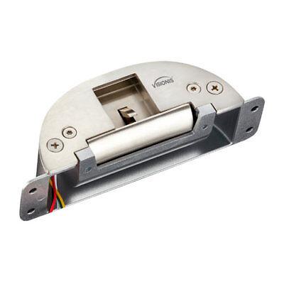 Visionis Vis-el107 Semi Oval Shaped 2200lbs Emergency Exit Electric Door Strike
